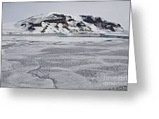 Brown Bluff, Antarctica Greeting Card