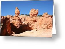 Bryce Canyon Hoodoos Greeting Card
