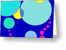 Bubble Two Greeting Card