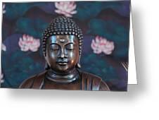 Buddha Statue Denver Greeting Card