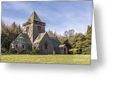 Building Church Southwick Parish Church Dumfries And Galloway Greeting Card