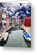 Burano 05 Greeting Card by Giorgio Darrigo