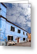 Burano 06 Greeting Card by Giorgio Darrigo