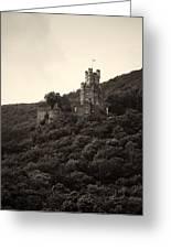 Burg Sooneck Am Rhine Greeting Card
