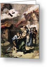 Burning Of Norfolk, 1776 Greeting Card