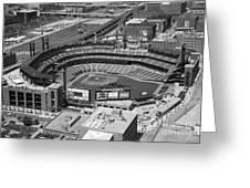 Busch Stadium Saint Louis Mo Greeting Card