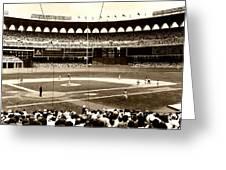 Busch Stadium - St Louis 1966 Greeting Card