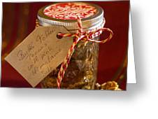 Butter Toffee Pecan Nuts With Himalania Salt Greeting Card