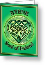 Byrne Soul Of Ireland Greeting Card