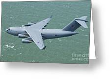 C-17 Of 99 Sqn Greeting Card