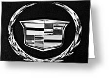 Cadillac Emblem Greeting Card