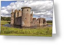 Caerlaverock Castle Greeting Card