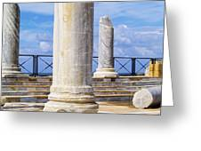 Caesarea Maritima Greeting Card