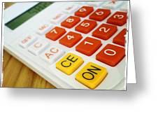 Calculator Greeting Card