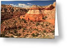 Calf Creek Canyon Red Rocks Greeting Card