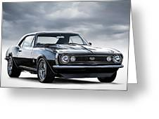Camaro Ss Greeting Card