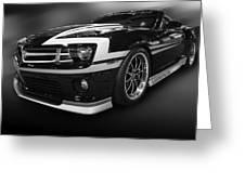 Camaro Stripes Greeting Card