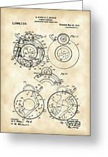 Camera Shutter Patent 1910 - Vintage Greeting Card