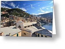 Camogli. Italy Greeting Card