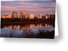 Canada, Saskatchewan, Saskatoon Greeting Card