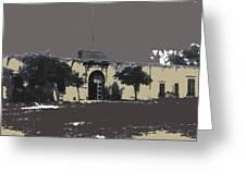 Canutillo Hacienda As Given To Pancho Villa  C.1920-2013 Greeting Card