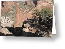 Canyon De Chelly Spider Rock Greeting Card