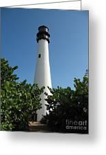 Cape Florida Light Greeting Card