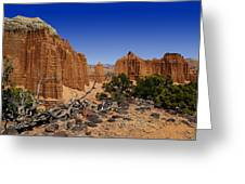 Capital Reef Greeting Card
