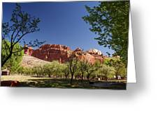 Capitol Reef Evening Greeting Card