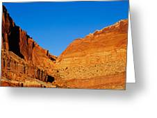 Capitol Reef National Park, Southern Greeting Card