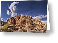 Capitol Reef National Park Utah Usa Greeting Card