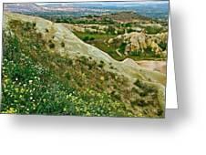 Cappadocia Landscape-turkey Greeting Card