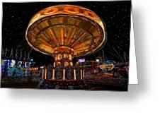 Carnival Night Greeting Card
