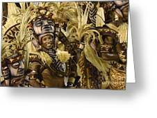 Carnival Rio De Janeiro 30 Greeting Card