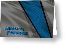 Carolina Panthers Uniform Greeting Card