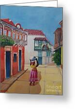 Cartagena Seller Greeting Card