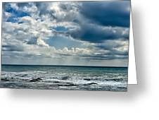 Caspian Sea. Greeting Card