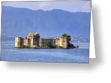 Castelli Di Cannero Greeting Card