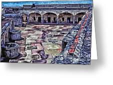 Castillo De San Cristobal Greeting Card