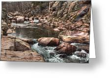 Castor River Greeting Card