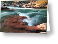 Castor River Greeting Card