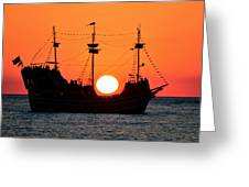 Catching The Sun Greeting Card by David Lee Thompson