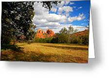 Cathedral Clearing Greeting Card