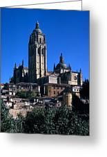 Cathedral In Salamanca Greeting Card