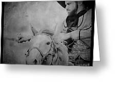 Cavalry Rides Again Greeting Card