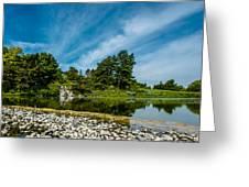 Cbg Waterfall Greeting Card