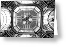 Ceiling Of Leadenhall Market In London Greeting Card