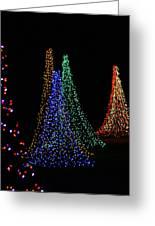 Celebration Of Lights - Oshkosh Greeting Card