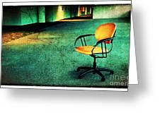 Chair2 Greeting Card