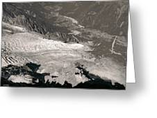 Chamonix From Above Greeting Card